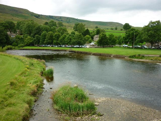 Burnsall village green
