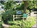 SJ7387 : Permissive path, Little Bollington by Dave Dunford