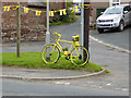 NY5733 : The yellow bikes of Langwathby (13) by Oliver Dixon