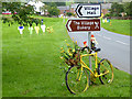 NY6137 : The yellow bikes of Melmerby (12) by Oliver Dixon