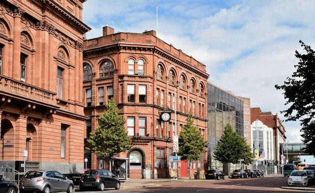 """The """"Belfast Telegraph"""" buildings, Belfast - August 2015(1)"""