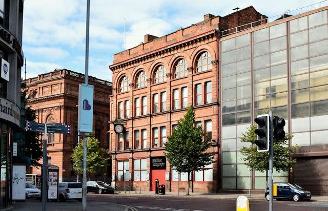 """The """"Belfast Telegraph"""" buildings, Belfast - August 2015(2)"""