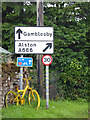 NY6137 : The yellow bikes of Melmerby (25) by Oliver Dixon