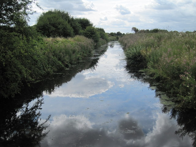 Drainage Ditch Frodsham Marsh
