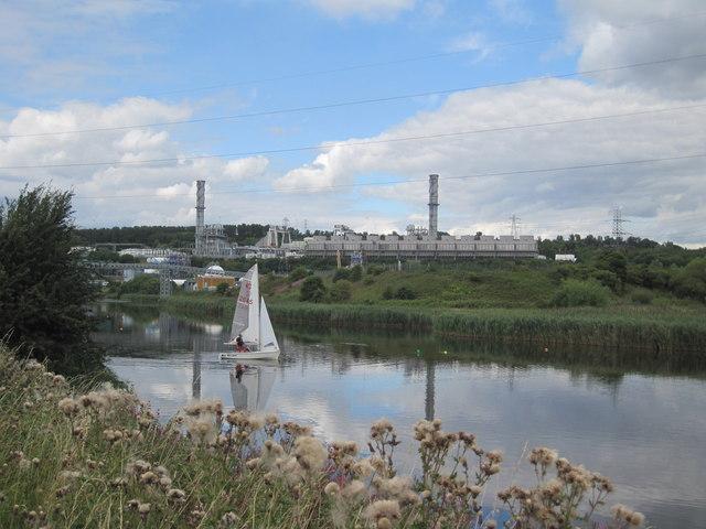 River Weaver from Frodsham Marsh