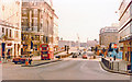 TQ3280 : Down to London Bridge on King William Street, on a Sunday in 1981 by Ben Brooksbank
