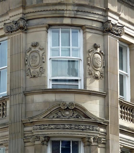Detail of Imperial Buildings, Westgate Road, Newcastle