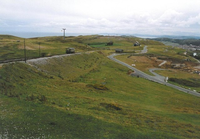 View from the Great Orme tram