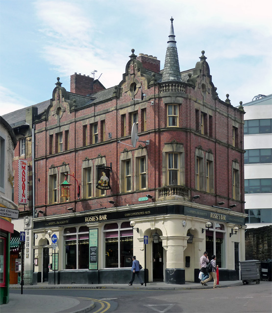 Rosie's Bar, Stowell Street, Newcastle