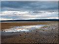 NH7357 : Evening at Rosemarkie Beach by Julian Paren