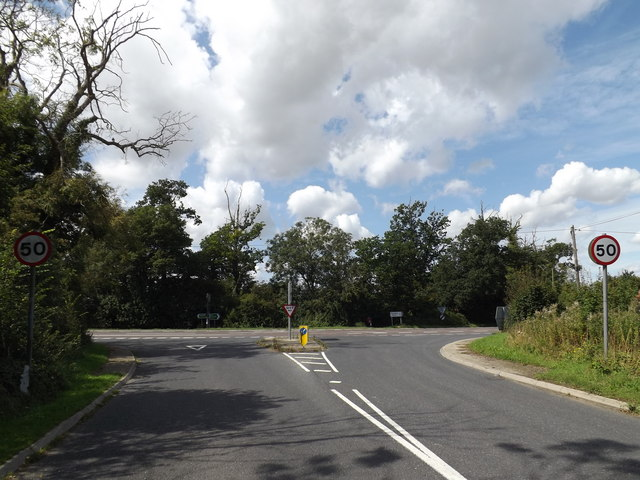 B1117 Yaxley Road, Thornham Parva