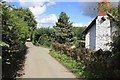 SJ2739 : Offa's Dyke Path at Fron Cottage by Jeff Buck