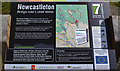 NY4887 : Info Plaque by David Liddle