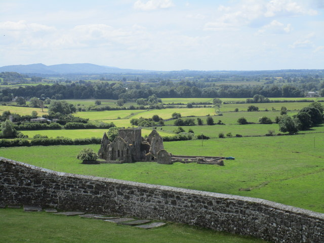 Hore Abbey seen from the Rock of Cashel
