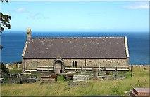 SH7683 : St Tudno's Church on the Great Orme by Steve Daniels