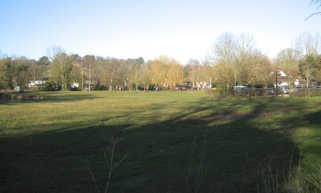 Floodmeadow and picnic spot by the River Kennet south of Woolhampton