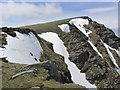 NN3443 : The eastern end of Beinn Achaladair. by Colin Park