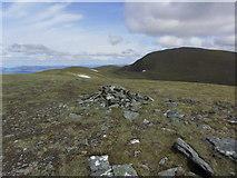 NN3543 : On Meall Buidhe with view towards Beinn a' Chreachain by Colin Park