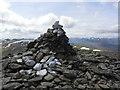 NN3744 : Summit cairn of Beinn a' Chreachain by Colin Park