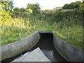 SE2533 : Outlet of Farnley Balancing Reservoir by Stephen Craven