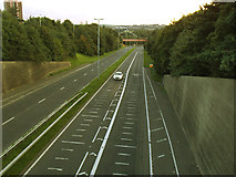 SE2534 : Stanningley Bypass, at Bramley Town End by Stephen Craven