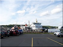 NS0964 : Ferry terminal at Rothesay, Bute by Elliott Simpson