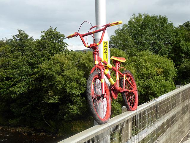 The stripey bikes of Haydon Bridge (5)