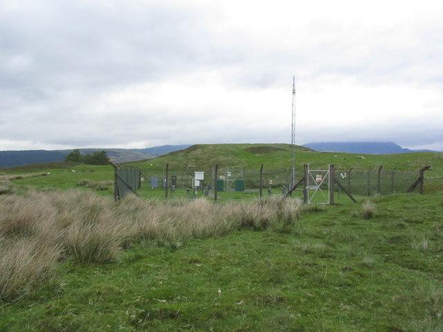Weather station at Fersit