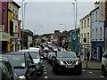 H4572 : Traffic in Market Street, Omagh by Kenneth  Allen