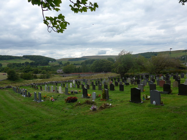 Christ Church, Burbage: graveyard (5) © Basher Eyre :: Geograph ...