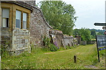 TQ5243 : Wall of Penshurst Place by N Chadwick