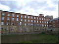 SE2633 : Former Winker Green Mills with remains of mill pond by Stephen Craven
