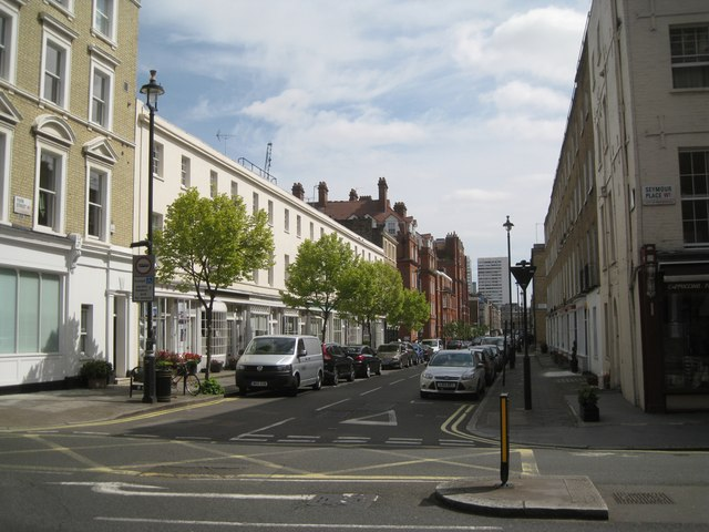 Seymour Place in Marylebone, London