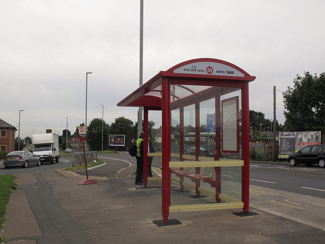 Bramley Town End bus stop