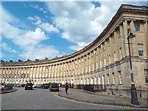 ST7465 : Royal Crescent, Bath by Malc McDonald