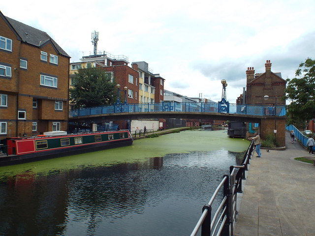 Grand Union Canal at Kensal Town