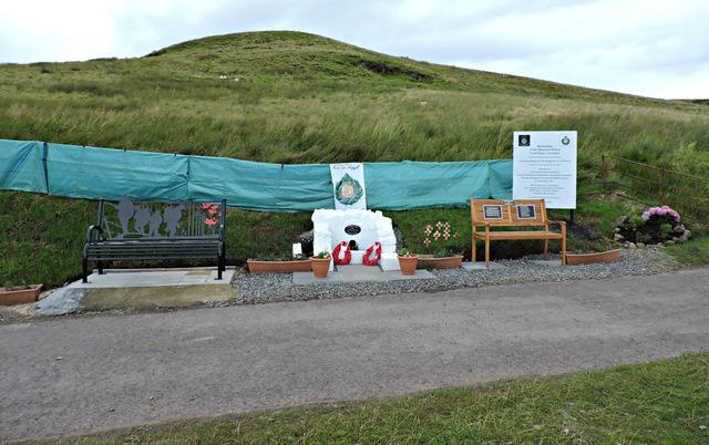 Argyll & Sutherland Highlanders memorial well