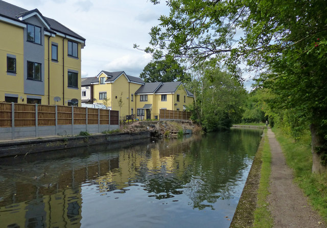 Grand Union Canal in Stockfield