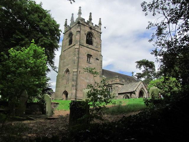 St Michaels Church, Horton, Staffordshire