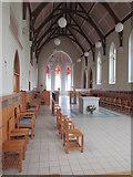 W9998 : St. Mary's Abbey, Glencairn, interior of the Abbey church by Jonathan Thacker