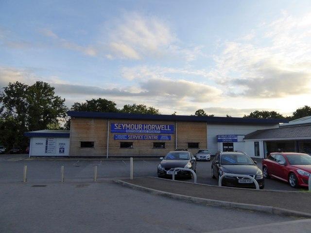 Motor dealers, Heywood estate, Kingsteignton