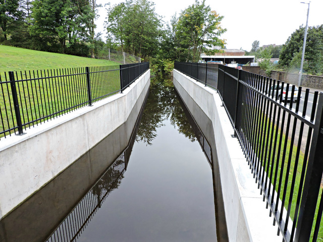 New water channel