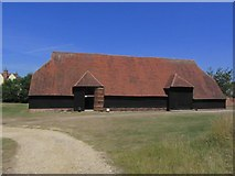 TL8422 : Grange Barn NT, Coggeshall by Colin Park