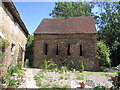 TL8522 : Monk House, Coggeshall Abbey by Colin Park