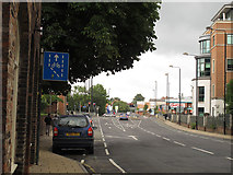SE6052 : Cycle lanes, Peasholme Green, York by Stephen Craven
