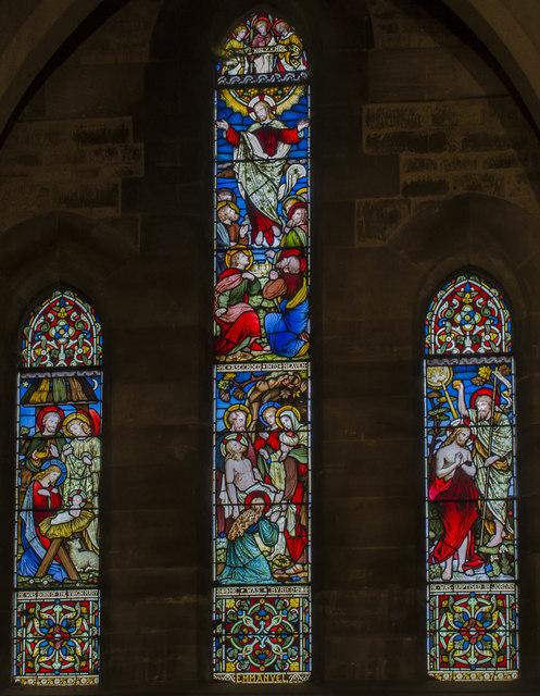 East window, All Saints' church, Harby