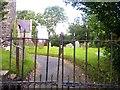 SN0815 : Gate into St Andrew's church Robeston Wathen by welshbabe