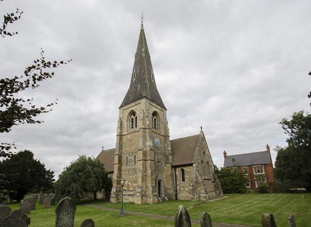 All Saints' church, Harby