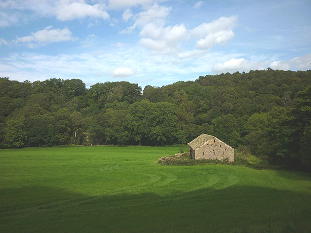 Birks Holme Barn near Furnessford Bridge, Hindburndale