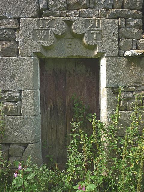 The door of Birks Holme Barn, Hindburndale